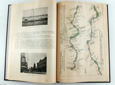 1914 Imp Russian RIVER NETWORK OF RUSSIA Boats Tariffs Maps Book Illustrated
