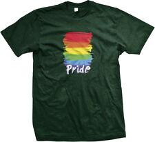 Gay Pride Love LGBT Lesbian Rainbow Equality Prop 8 Neon Fabulous Mens T-shirt