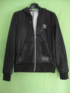Veste Adidas Chile 62 à capuche Originals Jacket Noir Femme style vintage - 38