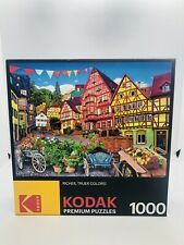 "Kodak Premium 1000 Piece Puzzle - European Town  - 27"" x 20"" - New/Sealed"