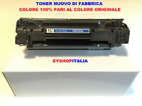 TONER PER STAMPANTE LASERJET HP P1102, P1102 W, CARTUCCIA TIPO CE 285A 85A