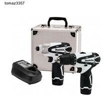 Cordless Drill Combo Kit Set Driver Power Tool by Makita