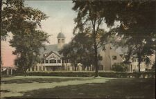 Middlebury Ct Westover School c1910 Hand Colored Postcard