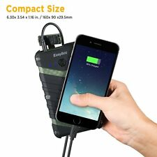 EasyAcc Power Bank 20000mAh Power Bank IP67 Waterproof, Dustproof, Shockproof