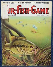 Magazine *Fur-Fish-Game* JULY, 1980 !!! *JIGS FOR RIVER BASS* !!!