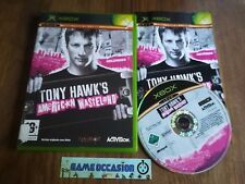 TONY HAWK'S AMERICAN WASTELAND XBOX COLLECTION XBOX MICROSOFT PAL COMPLETE