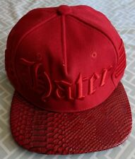 HATER Red Eighty Eight Snakeskin Snapback Summer Cap Hat New NWT