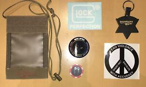 Glock Ghost Inc. Sticker First Spear ID Credential Holder