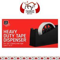 New Desktop Office HEAVY DUTY TAPE DISPENSER Sellotape Cellotape Pack Holder UK