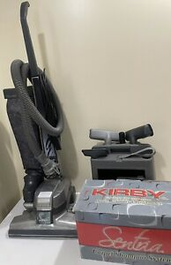 Kirby G4 Tech Drive Upright Vacuum Cleaner with Attachments Shampoo System