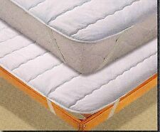 Coprimaterasso/coprirete con elastico trapuntato 120x200 piazza e mezza