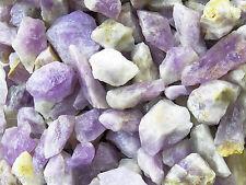 1 LB AMETHYST Madagascar Bulk Rough Rock Stones Tumbling 2200+ CARAT