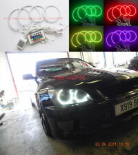 4pcs RGB Multi-Color Angel Eyes Halo Rings For Toyota Altezza SXE10 Gita (Japan)