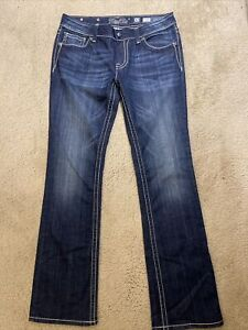 Miss Me Boot Denim women jeans Size 32 NEW