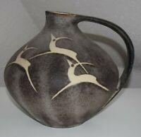 RUSCHA 315 design Keramik 60s 70s WGP Vase Fatlava Vintage artpottery MCM