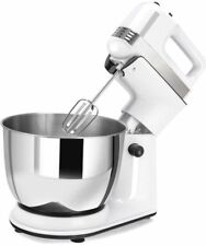 5 Speed Electric Kitchen Cake Mixer Dough Hook Beater Stand Stainless Steel Bowl