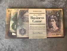 Vintage: 1965 Waddingtons Business Game Mine A Million Board Game
