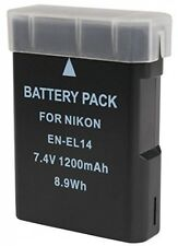 BPS EN-EL14 Li-ion Battery For Nikon D3300 D5300 D5500 D3200 D5200 D3S