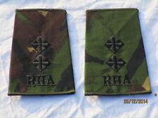 Distintivo di grado: Tenente,RHA, Royal Cavallo Artiglieria, DPM, #1