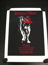 VINTAGE JAMES 0'BARR The Atrocity Exhibition 173/1000 17.5 x 23 THE CROW