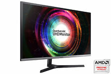 "New 32"" Samsung U32H850 Quantum Dot UHD 3840x2160 4K 10 Bit Freesync Monitor"