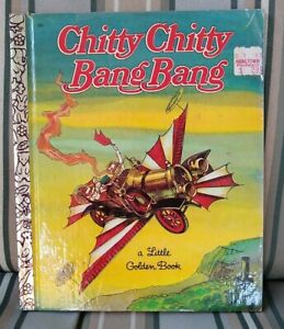 Chitty Chitty Bang Bang Little Golden Book 1968