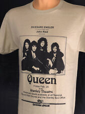 Queen Rock Band T Shirt Freddie Mercury Retro Concert Classic Bohemian Rhapsody