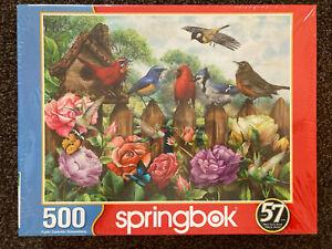 NEW!! SPRINGBOK 500 Piece MORNING SERENADE Puzzle