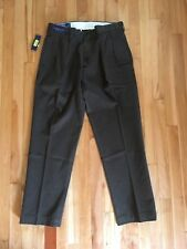 NWT Polo Ralph Lauren Classic Chino Pleated Ethan Work Golf Pants Mens Sz 35/30