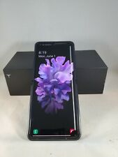 Samsung Galaxy Z Flip SM-F700F/DS - 256GB - Mirror Black (Unlocked) READ DESCRIP