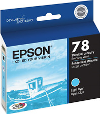 New Genuine Epson 78 Light Cyan Bag Ink Cartridge Stylus Photo R260