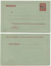 36298 - Bayern Ganzsache K 9 - Kartenbrief - Volksstaat Bayern - ungebraucht