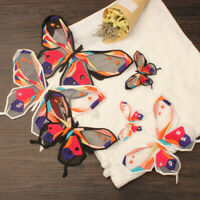 Lace Butterfly Embroidery Sew On Patch Badge Clothes Fabric Applique DIY Craft