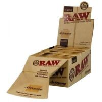 Raw Rolling Paper Artesano King Size Tray + Papers + Tips x 5