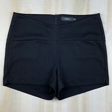 Torrid Womens Plus Size 18 Black Textured Stretch Shorts