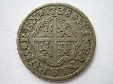 España 1738 Plata 1 Real GF
