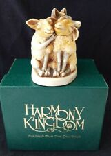 Harmony Kingdom Mutton Chops Treasure Jest Sheep & Wolf Trinket Box Signed Iob