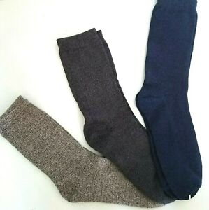 WOMEN Dress Crew BAMBOO Socks 3 Pair Assorted by Charter CLUB