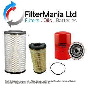 THWAITES 6 TONNE DUMPER FILTER KIT (Air, Oil & Fuel Filters) 2005 onwards