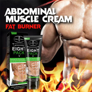 6 Pack Cream, Abs Stimulator Fat Burner, Weight Loss Gel Slimming, Stomach Belly
