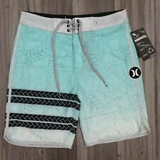 Hurley Phantom Eolkoa Boardshorts Swim Trunks Size 28 Green Black NWT $70.00