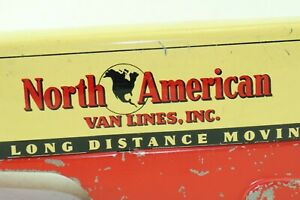 Marx North American Van Lines Semi Trailer only - pressed steel - USA