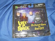 LOST IN SPACE Robot B-9 & Dr Zachary Smith MINIMATES Figure Set by Diamond