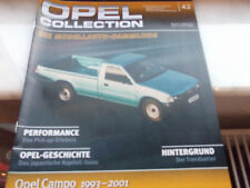 IXO Opel Collection OPEL Campo Türkis   1993-2001 in Vitrine 1:43 OVP  Nr.42