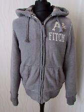 Abercrombie & Fitch Vintage Style Hooded Grindstone Creek Grey Jacket - Medium