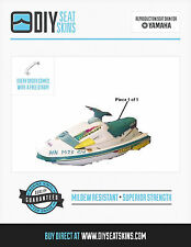 Yamaha Waveraider 700 1100 TEAL Seat Skin Cover 94 95 + FREE EMAILED PDF MANUAL!