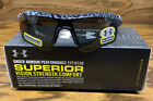 New Under Armour Dynamo Youth Sport Sunglasses Black/ Gray Pattern Gray Lens