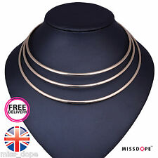 NEW NEW GOLD MULTI CLEOPATRA ROUND GEOMETRIC NECKLACE CHAIN BIB COLLAR WOMENS UK