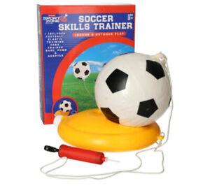 Reflex Soccer Swingball indoor/ourdoor will ball base and pump