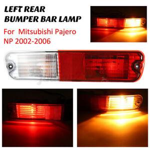 LH Left Rear Bumper Light Bulb Brake Tail Light Lamp For Mitsubishi Pajer